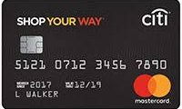 Sears Shop Your Way Card/Credit Card