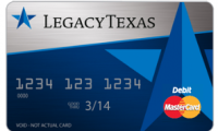 LegacyTexas Complete Rewards Card |Rewards!!!!