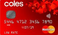Coles Low Rate MasterCard| Enjoy $10 Off Your Coles Supermarket