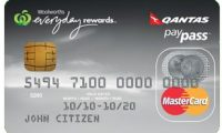 Woolworths Everyday Qantas Platinum Credit Card |Uncapped Points!!!!!