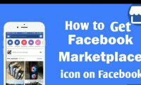 How to Get Facebook Marketplace icon/Marketplace icon