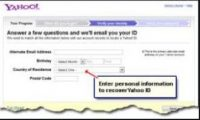 Yahoo Mail Account Recovery
