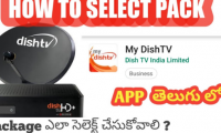 Dish TV/ how do I select my dish tv package?