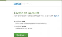 Elance Create account | Meaning of Elance | How does it work?