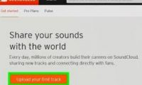 Soundcloud Web | How to upload & download songs from SoundCloud