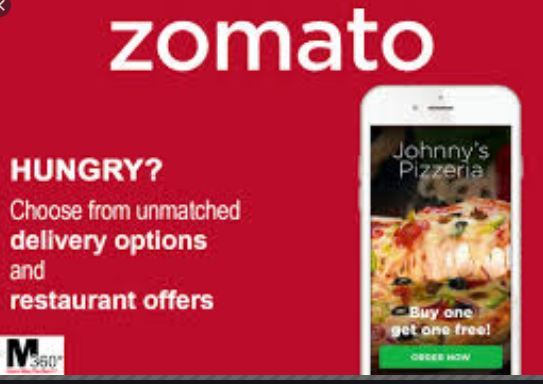 Zomato online restaurant finder