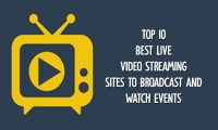 Top 10 Best Live Video Streaming Sites to Broadcast and Watch Events – Live Video Streaming Sites | Live Video Broadcast