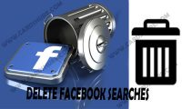 Delete Facebook Searches – Delete Recent Facebook Searches | Delete Search History on Facebook