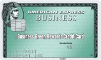 Business Green Rewards Credit Card – How to Apply