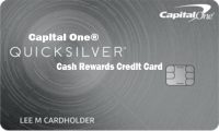 Capital One® Quicksilver® Cash Rewards Credit Card – How to Apply for Quicksilver Reward Credit Card