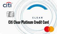 Citi Clear Platinum Card – Citi Clear Platinum Credit Card Application