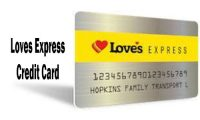 Loves Express Credit Card – How to Apply for Loves Express Card