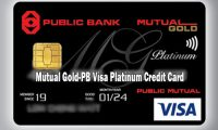 Mutual Gold-PB Visa Platinum Credit Card – How to Apply for Mutual Cold PB Credit Card
