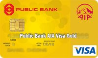 Public Bank AIA Visa Gold – How to Apply Public Bank AIA Visa Gold Credit Card