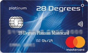 28 Degrees Platinum Mastercard - 28 Degrees Platinum Card Application