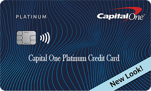 Capital One Platinum Credit Card - How to Apply
