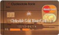Clydesdale Gold MasterCard – How to Apply