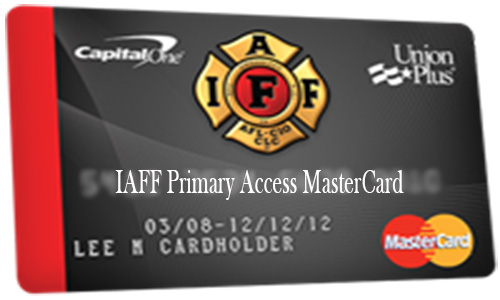 IAFF Primary Access MasterCard - How to Apply