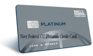 Navy Federal CU Platinum Credit Card - How to Apply