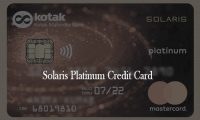 Solaris Platinum Credit Card – Solaris Platinum Credit Card Application