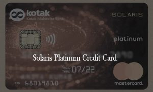 Solaris Platinum Credit Card - Solaris Platinum Credit Card Application