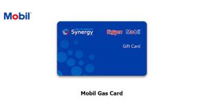 Mobil Gas Card